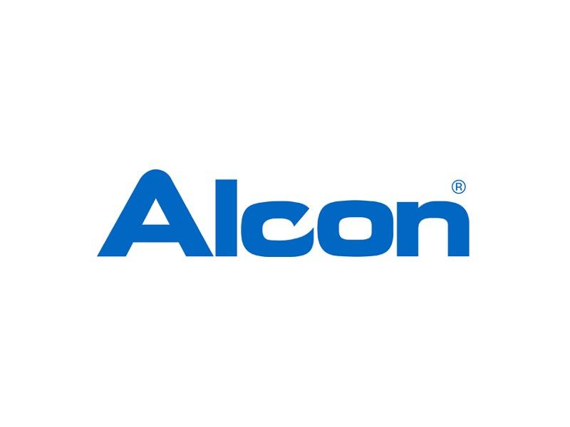 Logotipo Alcon   Óptica Optimax