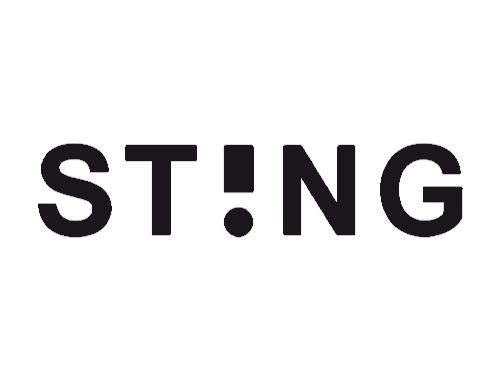 Logotipo Sting   Óptica Optimax